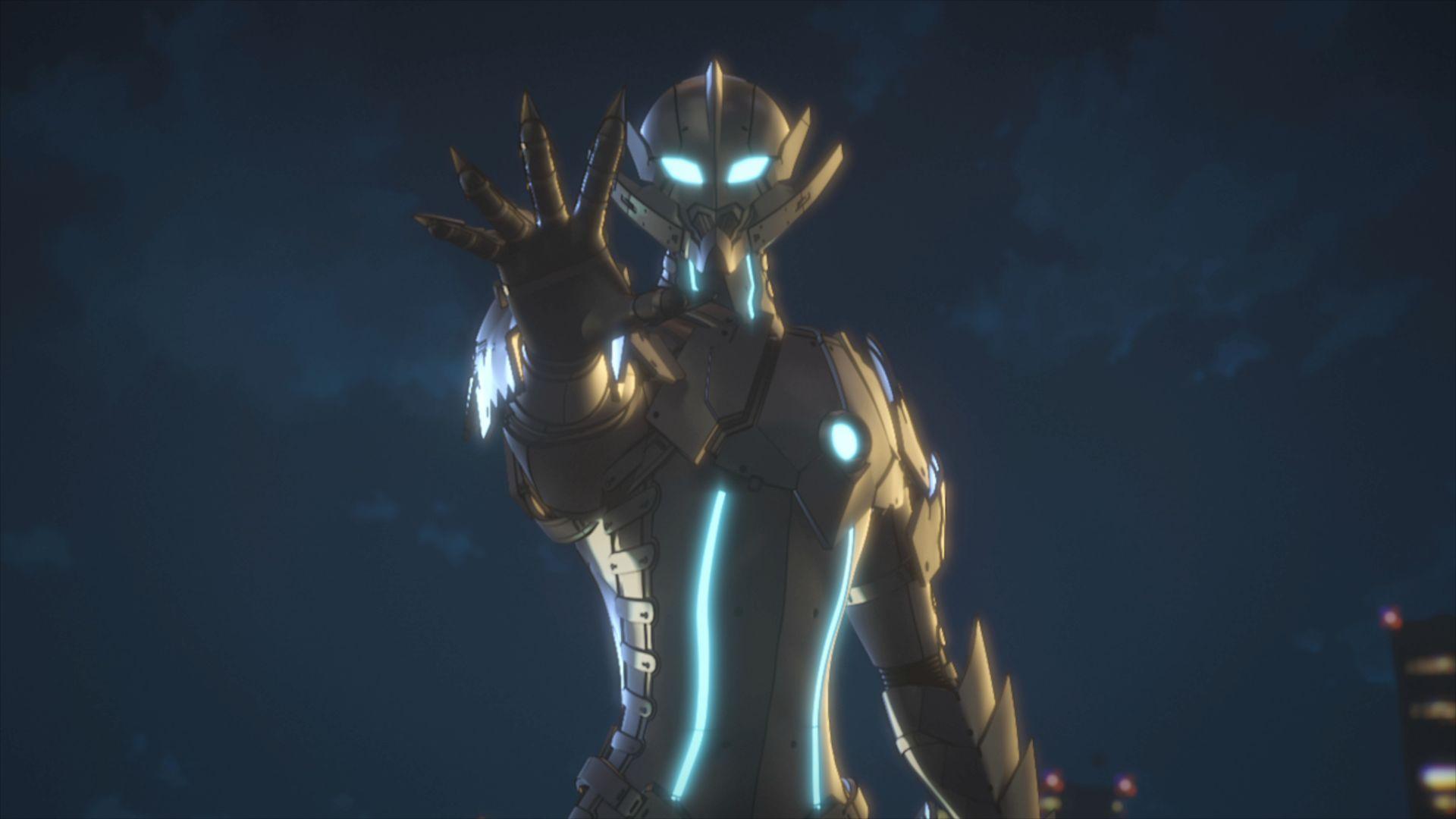 Ultraman: una sequenza della prima stagione