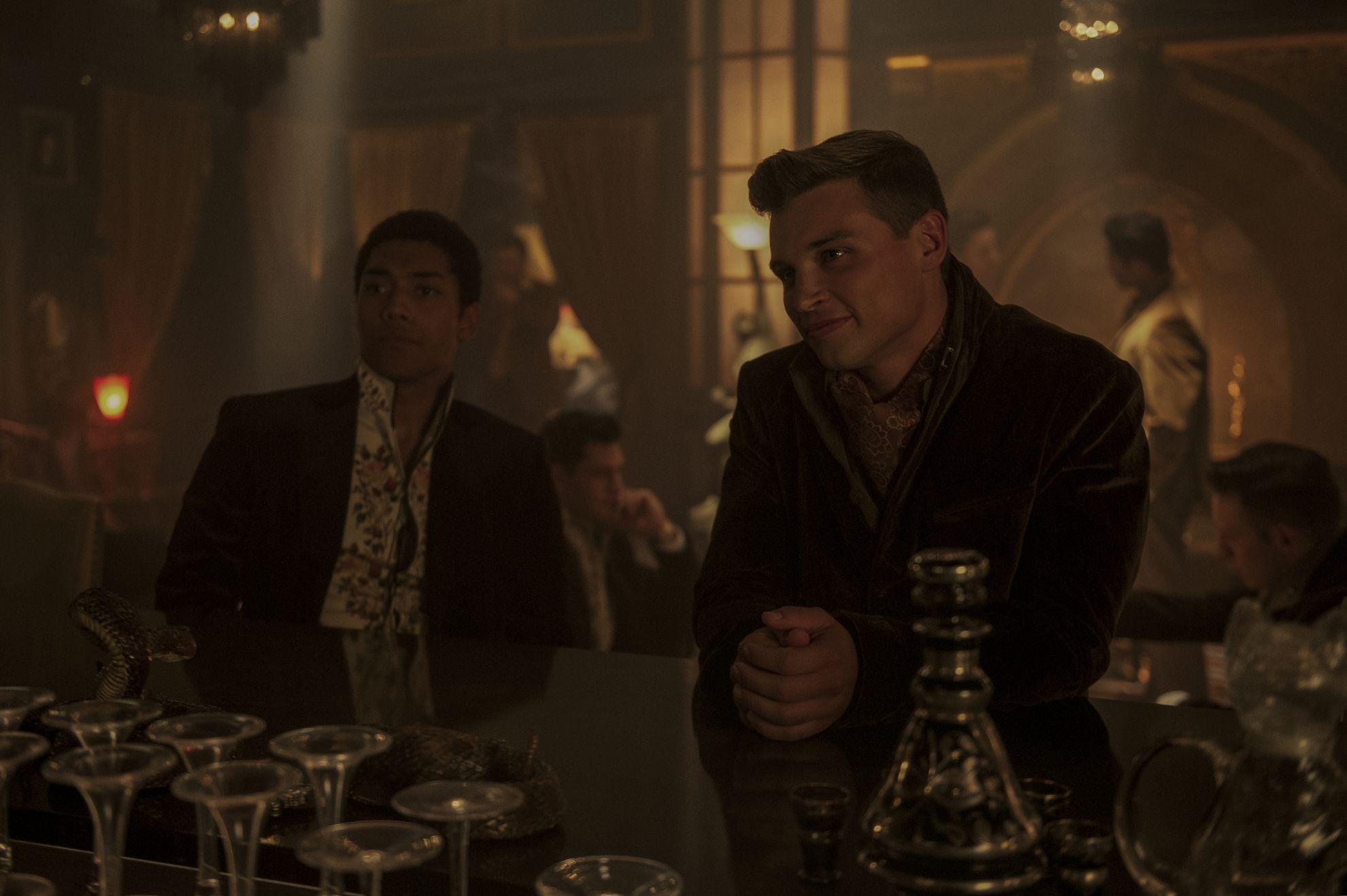 Le terrificanti avventure di Sabrina: una scena con Chance Perdomo nella seconda stagione