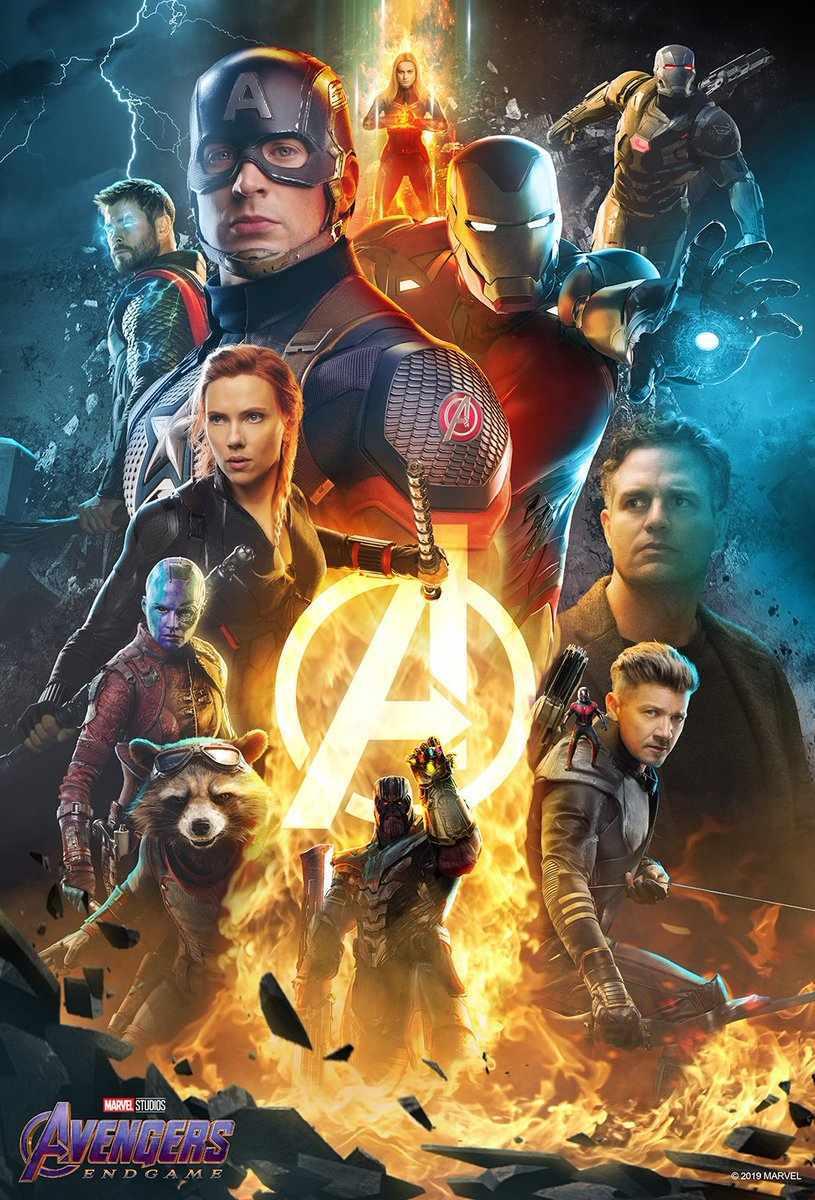 Avengers: Endgame, un nuovo poster del cinecomic Marvel