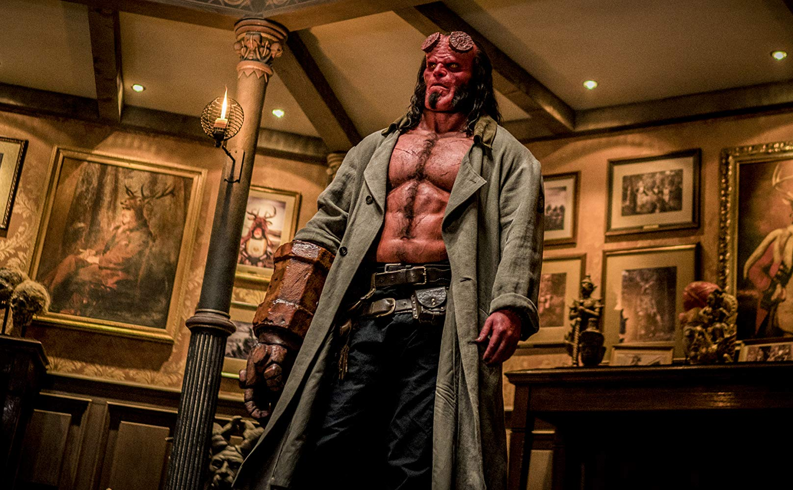 Hellboy: una sequenza con David Harbour