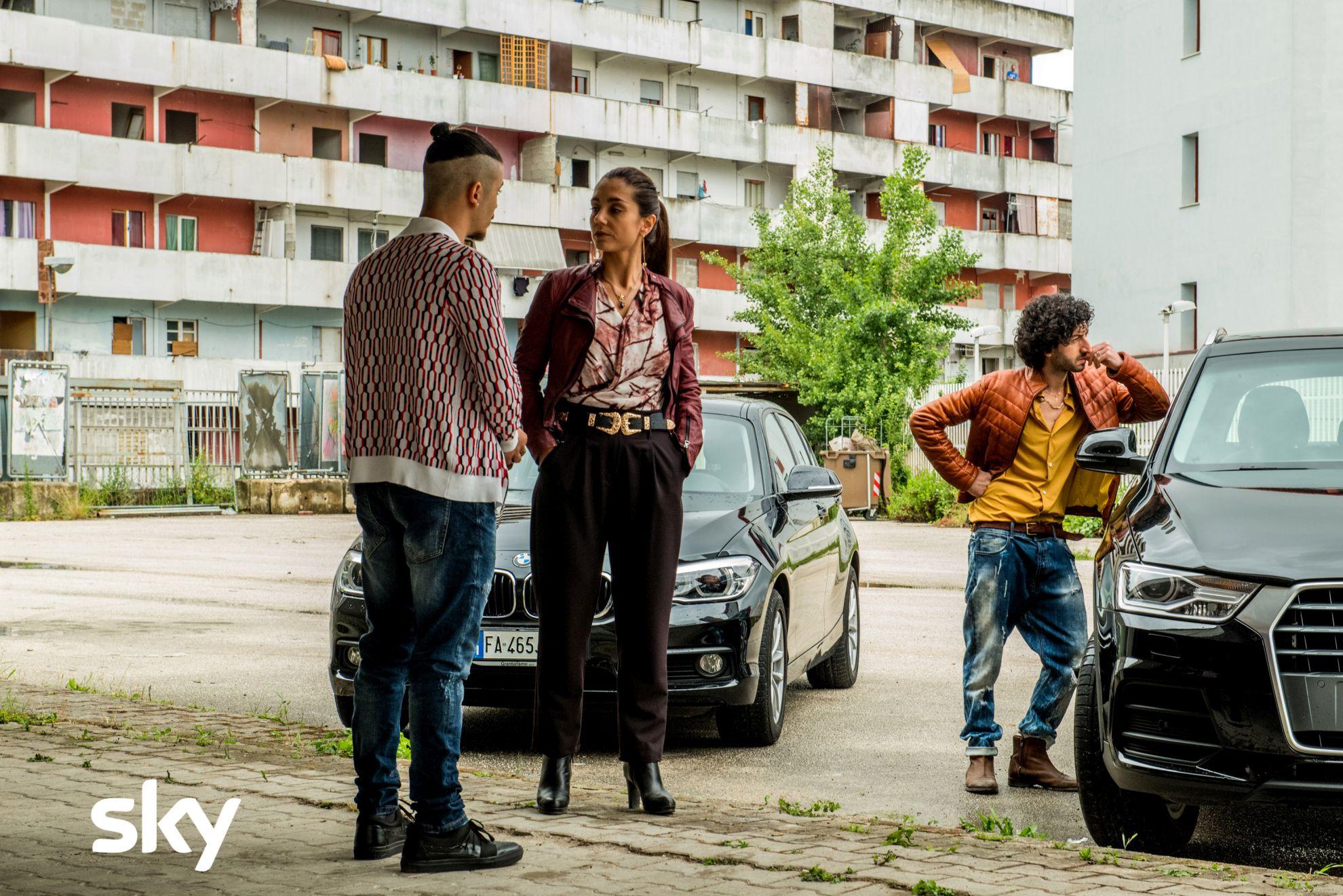 Gomorra - La Serie: una scena del terzo episodio della quarta stagione con Cristiana Dell'Anna