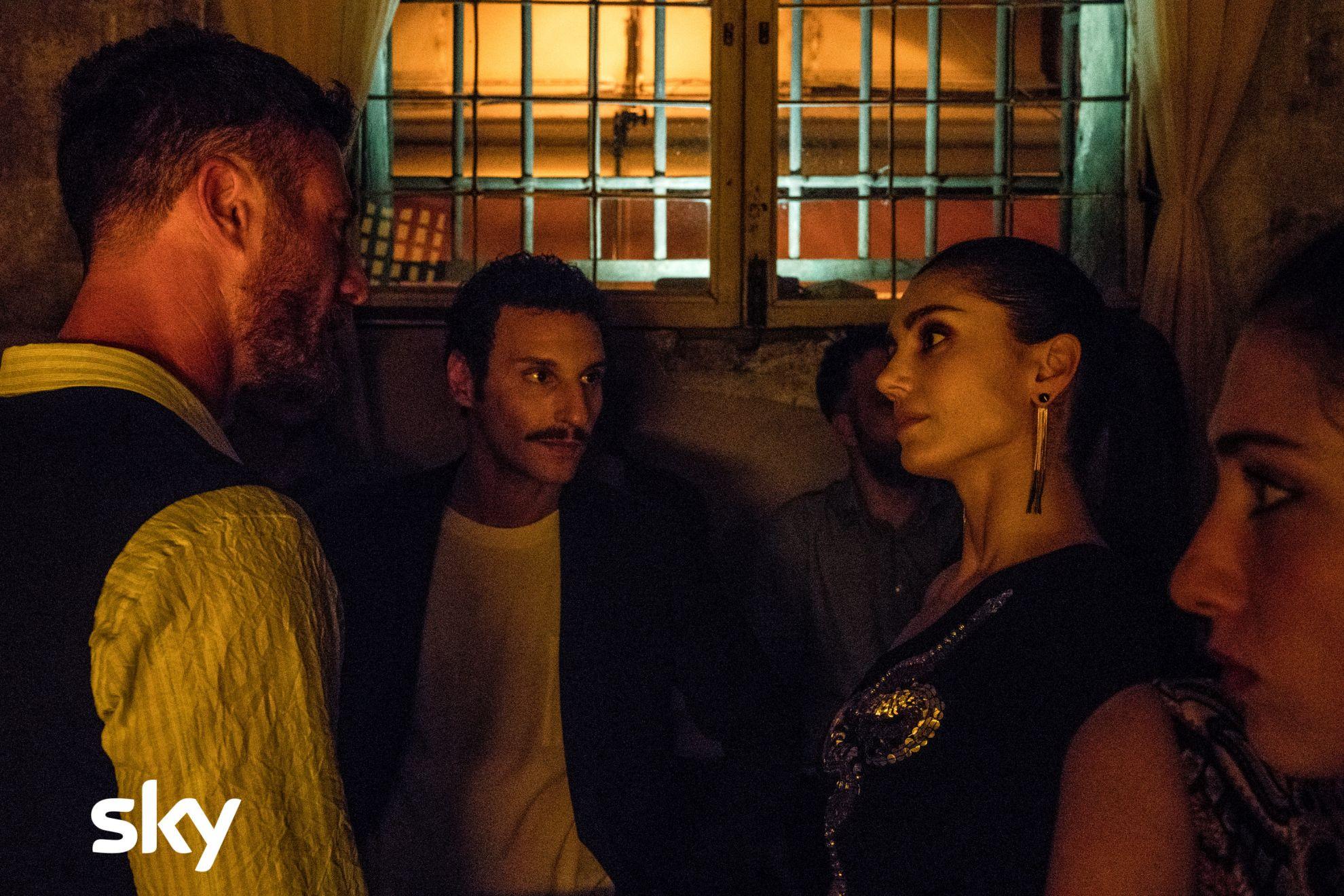 Gomorra - La Serie: Cristiana Dell'Anna nel terzo episodio, quarta stagione