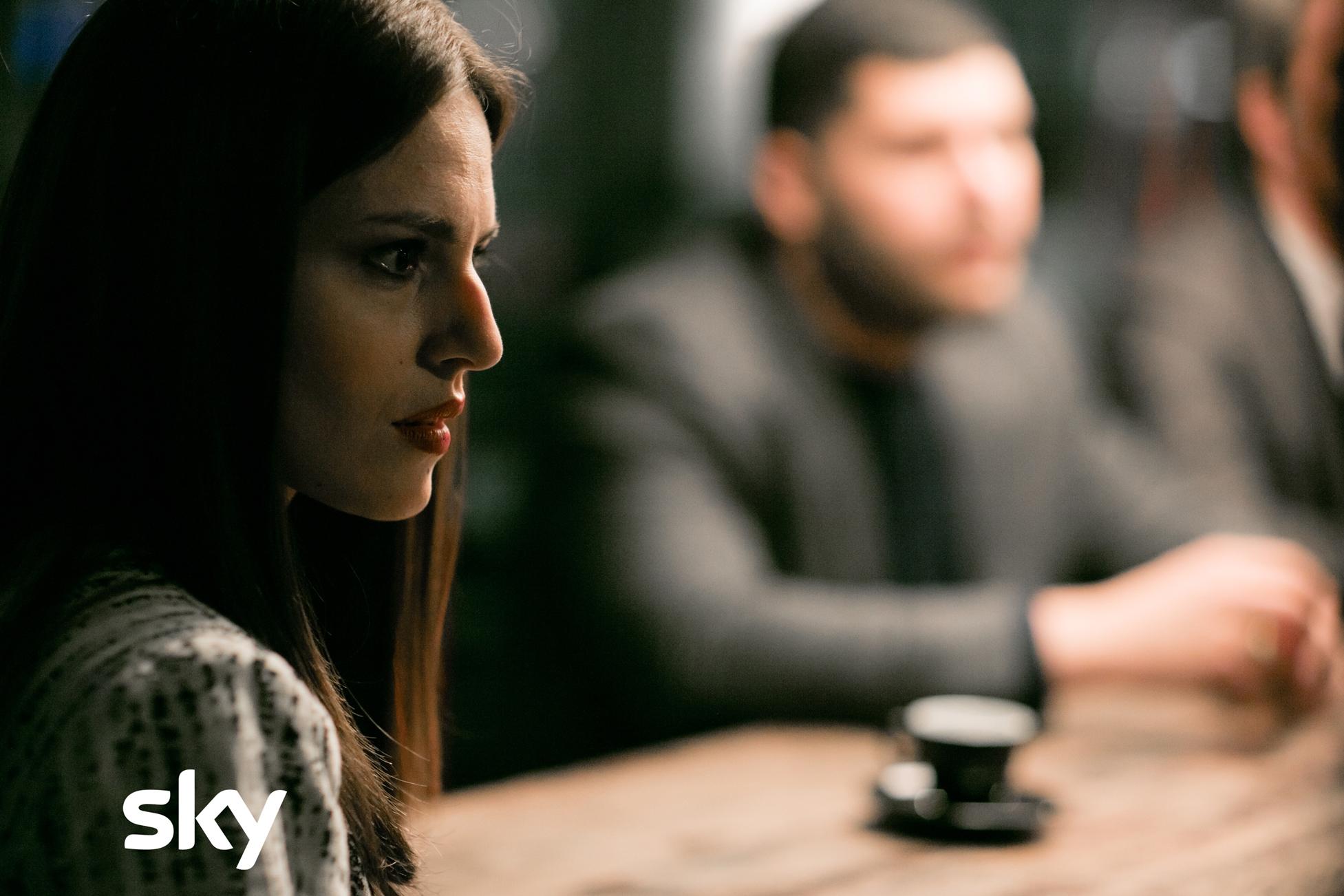 Gomorra - La Serie: Ivana Lotito in una scena del quarto episodio, quarta stagione