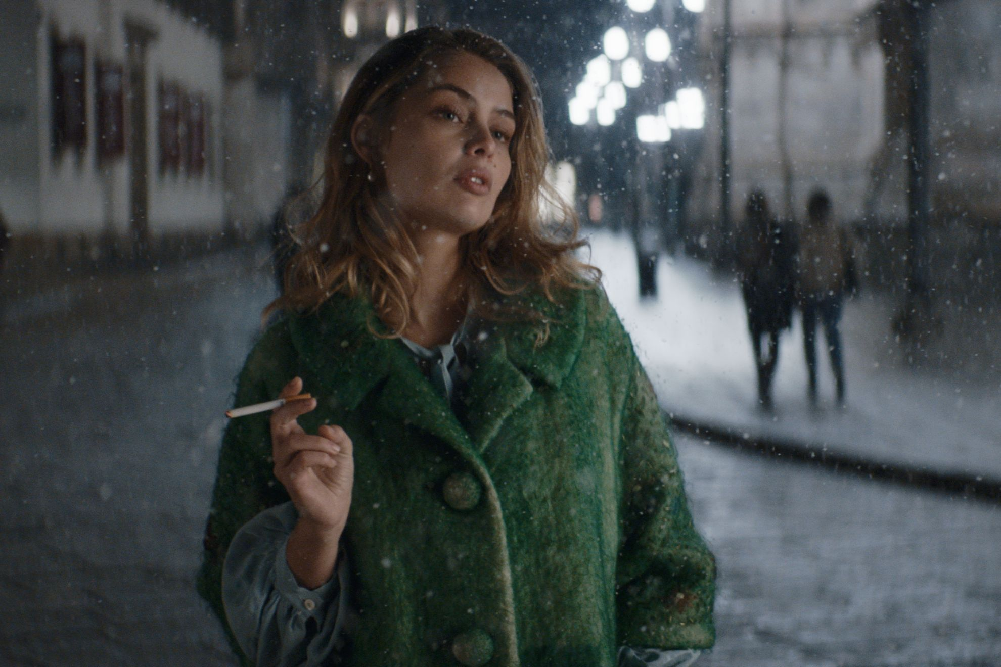 Lo Spietato: Marie-Ange Casta in una scena