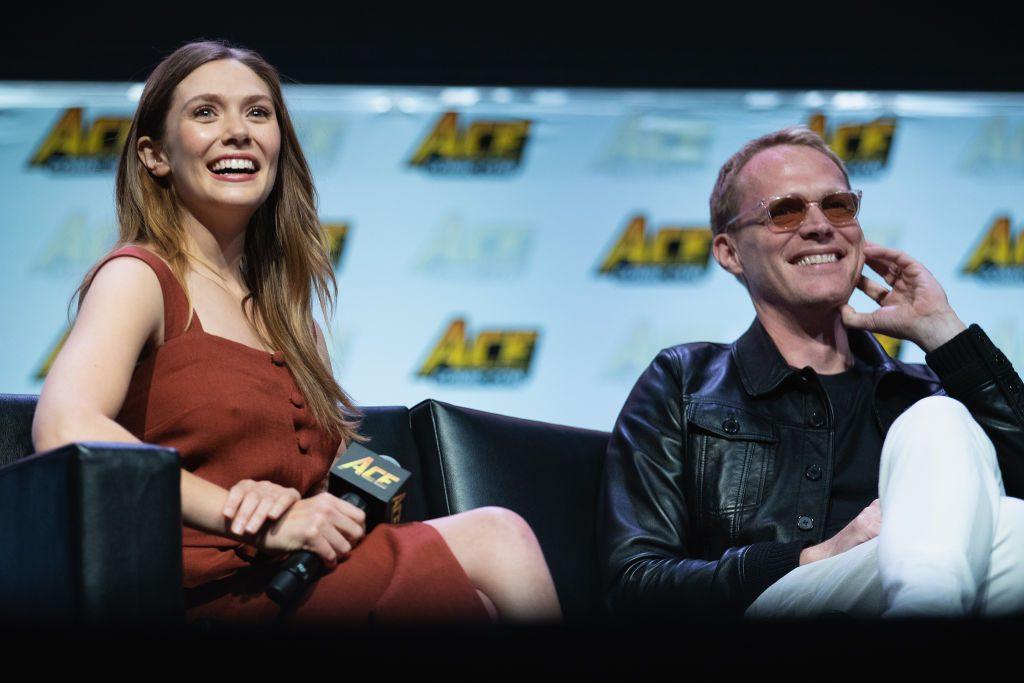 Avengers: Infinity War, Paul Bettany ed Elizabeth Olsen