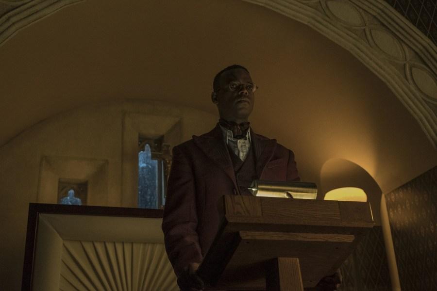 American Gods:  Demore Barnes in una scena dell'episodio The Ways of the Dead