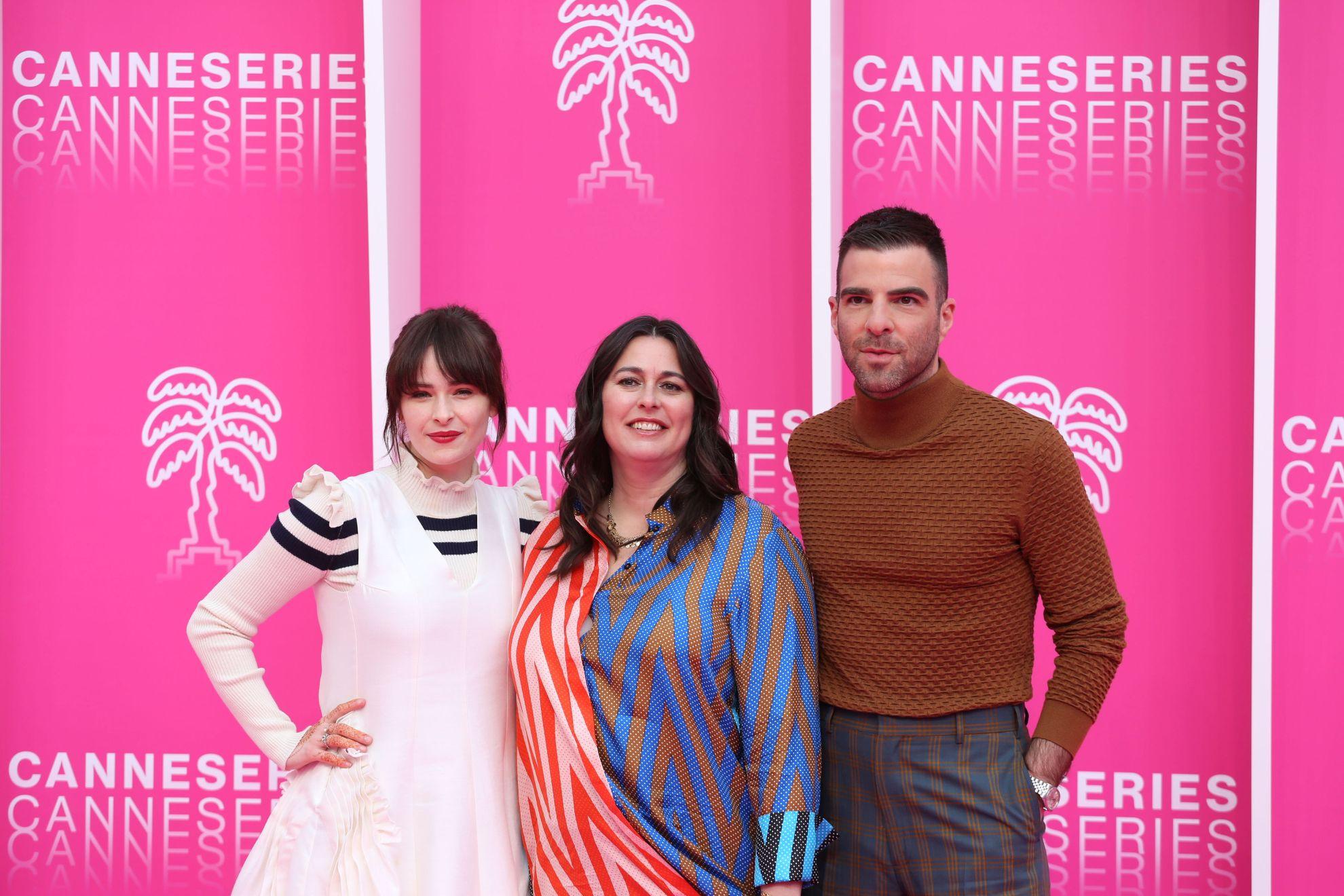 Canneseries 2019: una parte del cast di NOS4A2 sul pink carpet