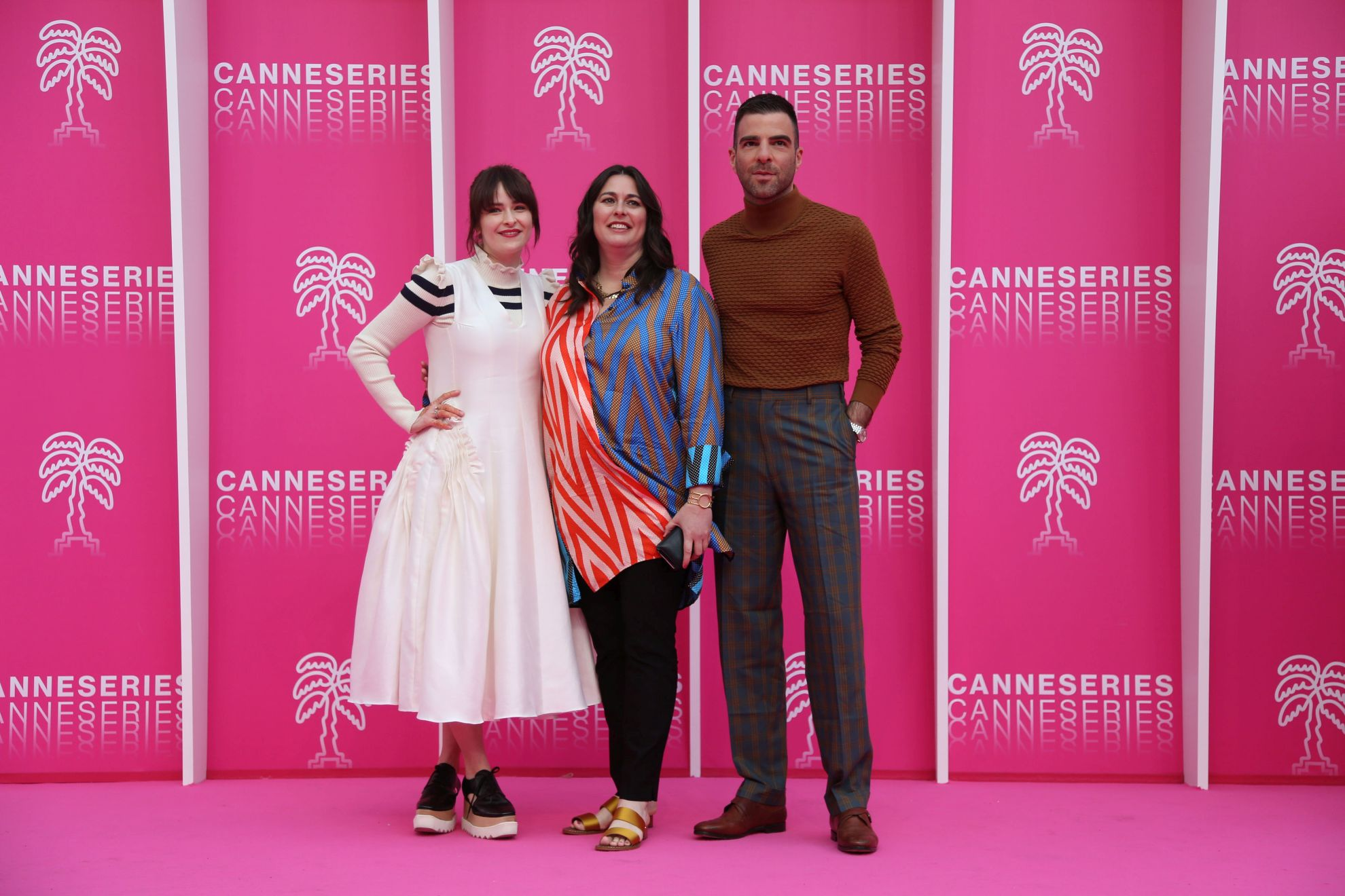 Canneseries 2019: il cast di NOS4A2 sul pink carpet per il photocall