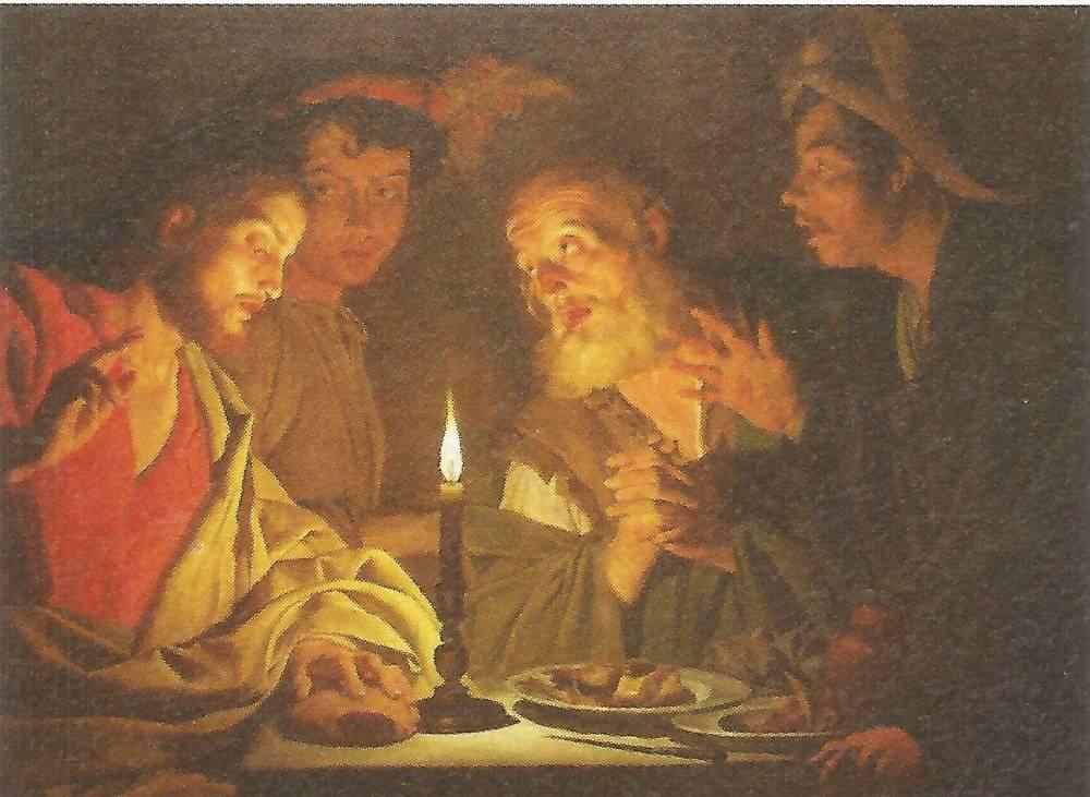 Diec - Il Miracolo di Illegio: uno dei quadri esposti nel documentario