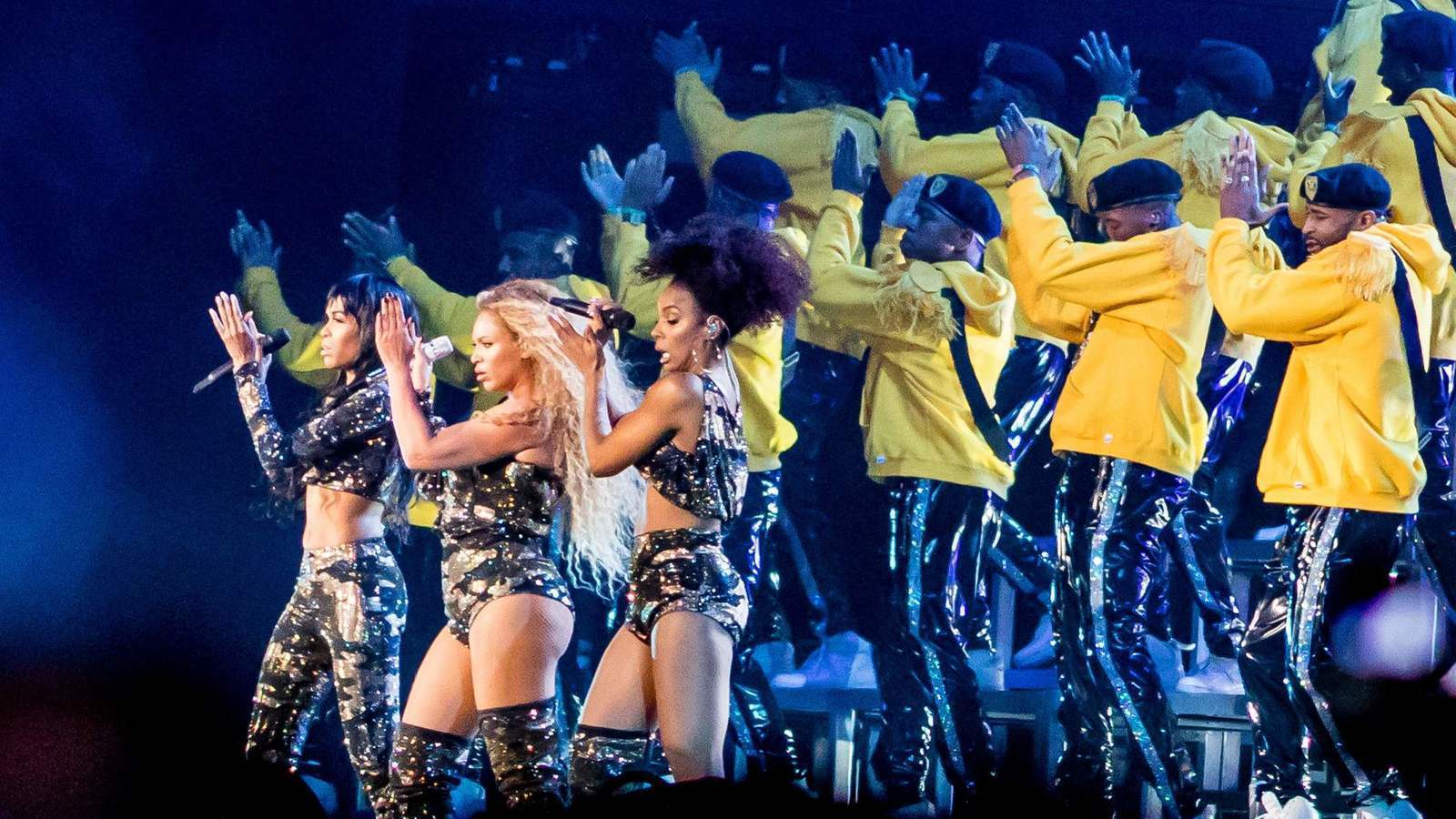 Homecoming - A Film by Beyoncé: una sequenza del documentario
