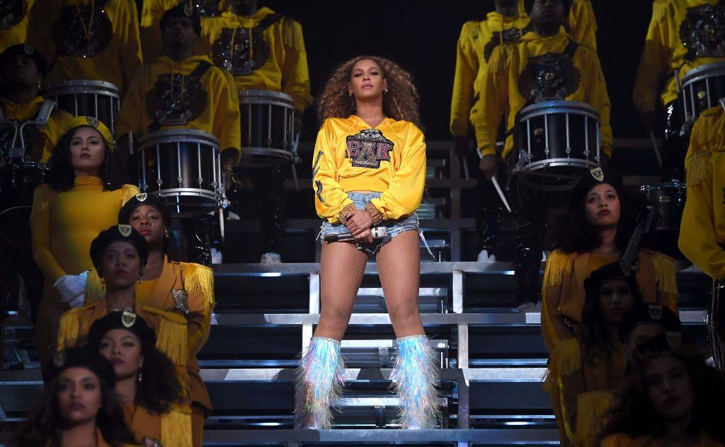 Homecoming - A Film by Beyoncé: un'immagine di Beyoncé nel documentario