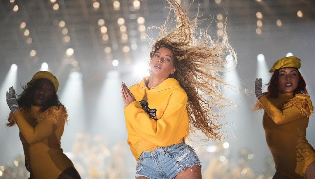 Homecoming - A Film by Beyoncé: Beyoncé in un momento del documentario