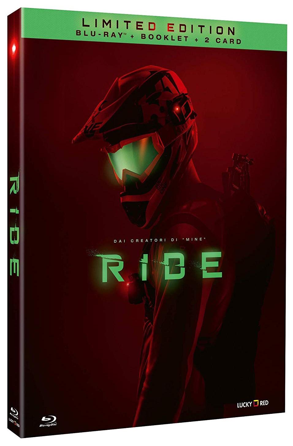 La cover del Blu-ray di Ride