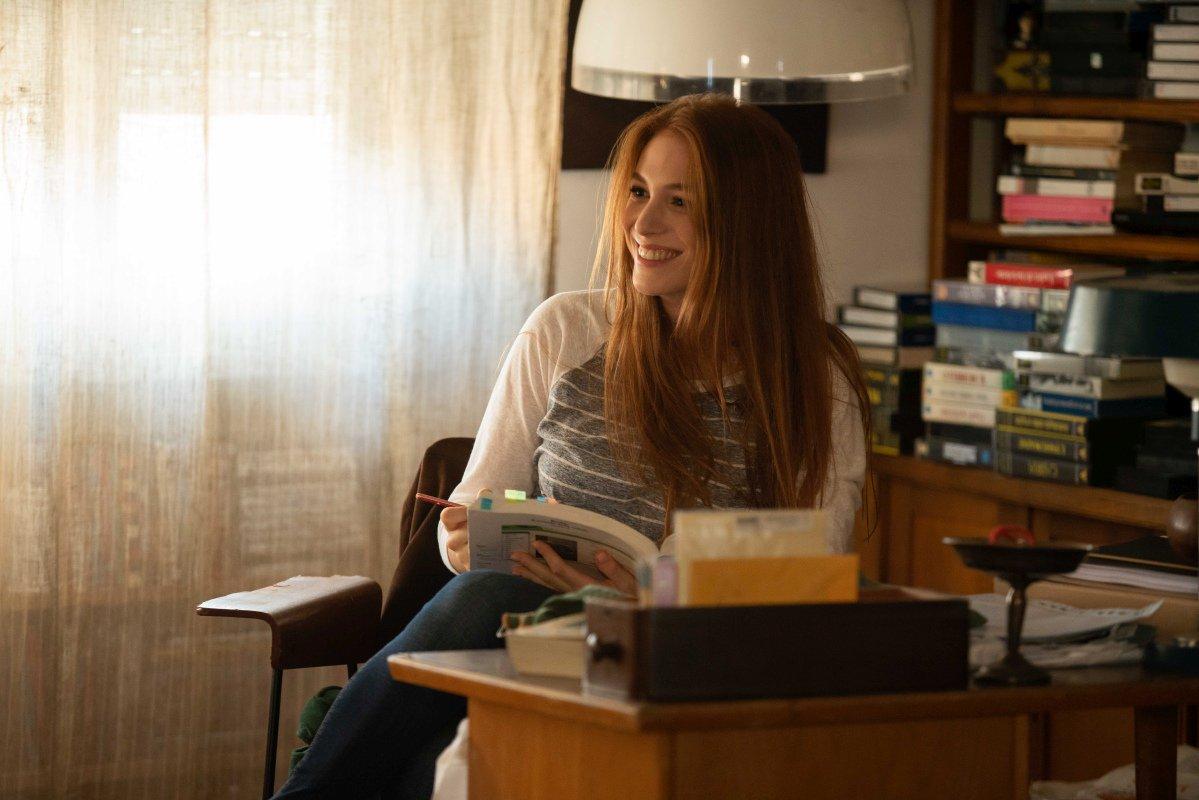 Il Campione: Ludovica Martino in una scena del film