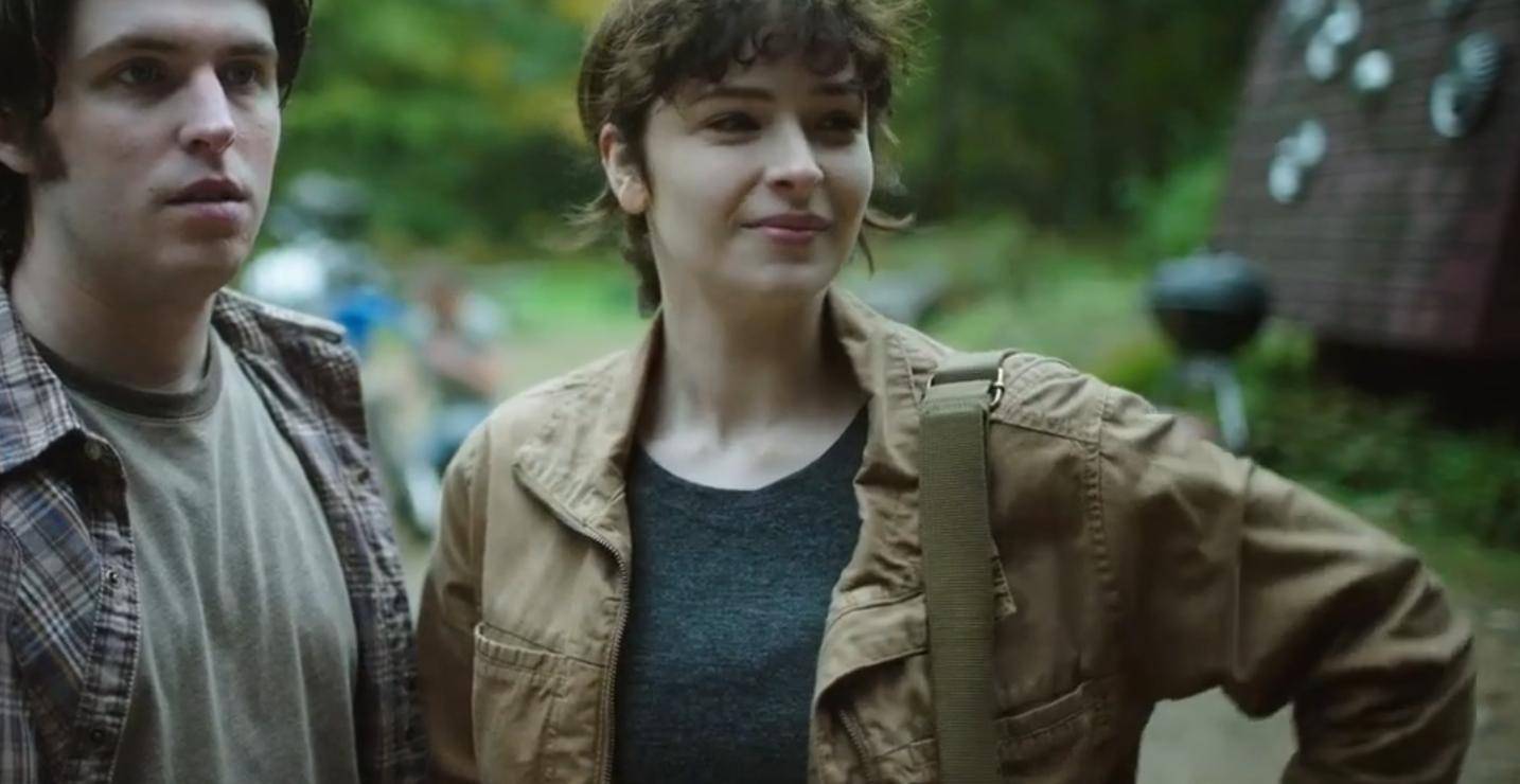 NOS4A2: Ashleigh Cummings in una scena della serie