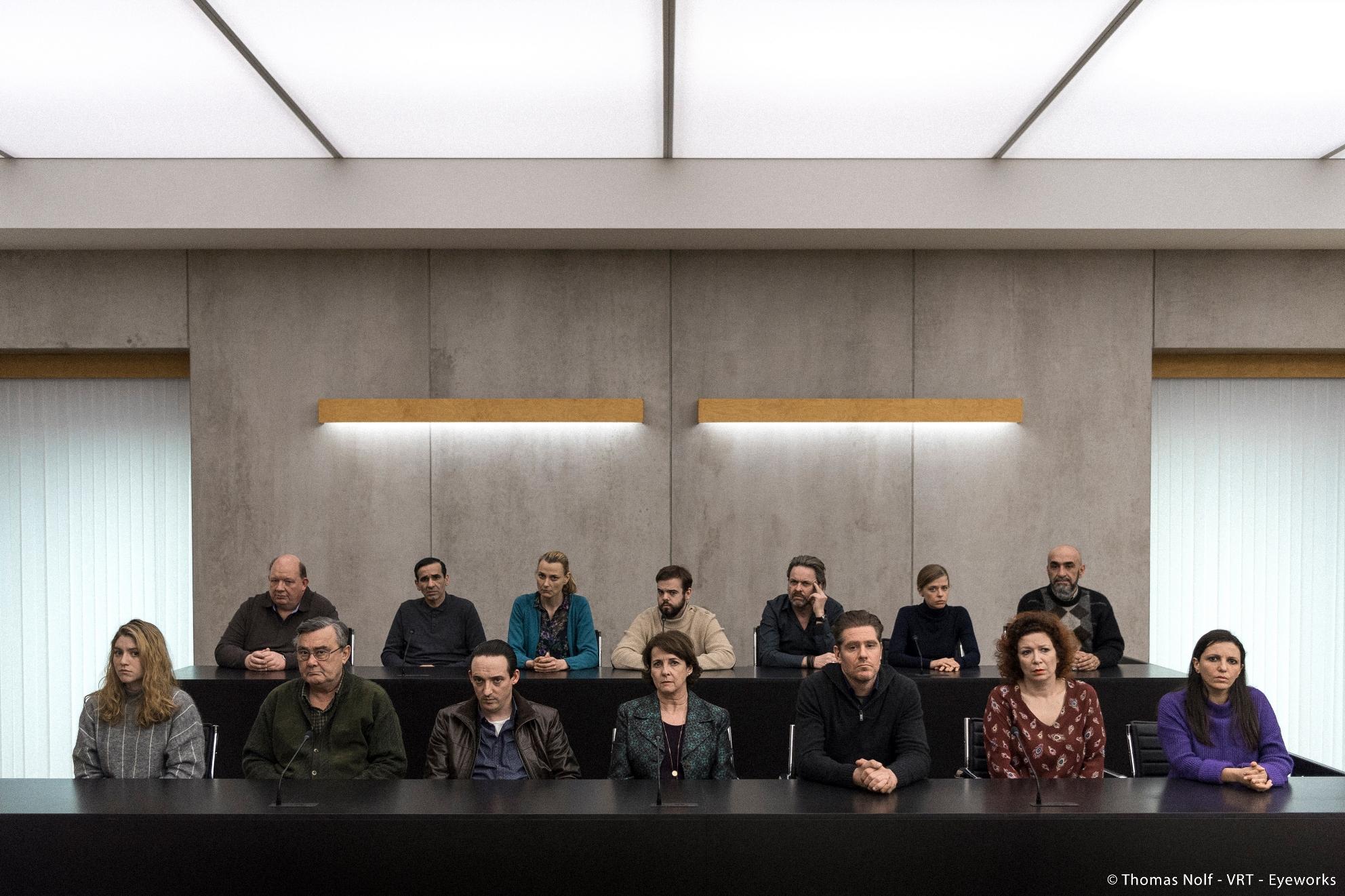 The Twelve: una scena della crime series