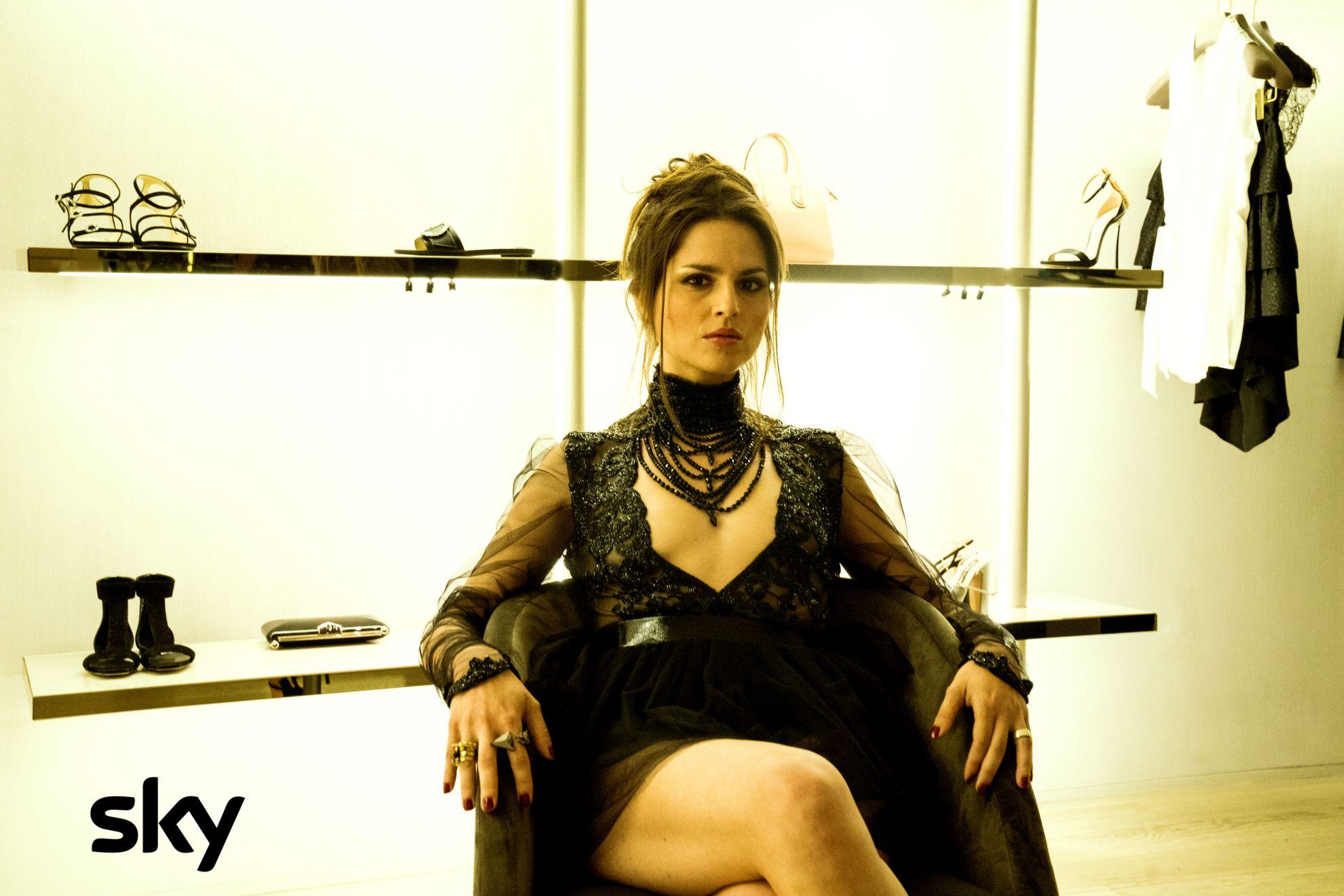 Gomorra - La serie: Ivana Lotito durante una scena del quinto episodio della quarta stagione
