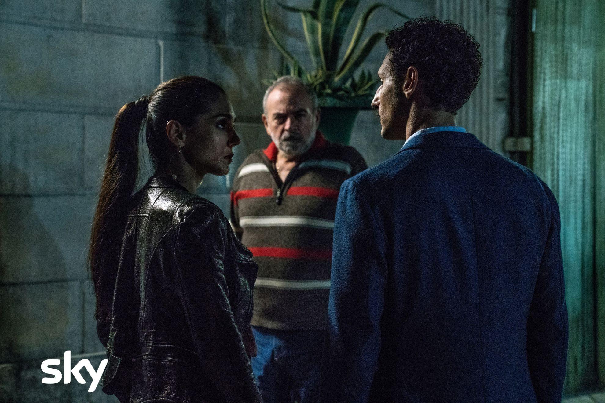 Gomorra - La serie: una scena con Cristiana Dell'Anna, quinto episodio della quarta stagione