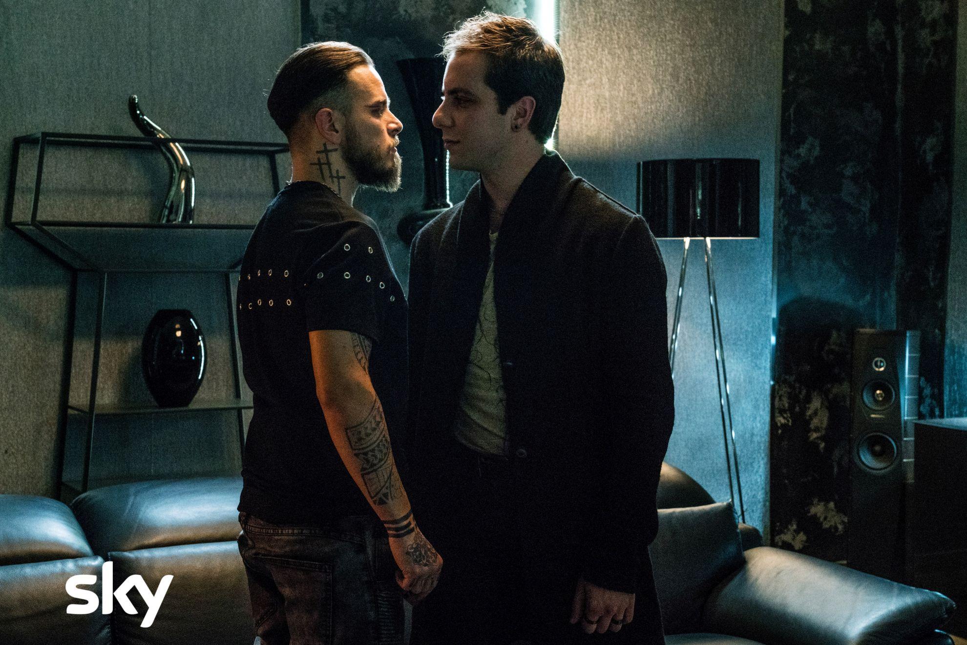 Gomorra - La Serie: Loris De Luna e Arturo Muselli nel sesto episodio della quarta stagione