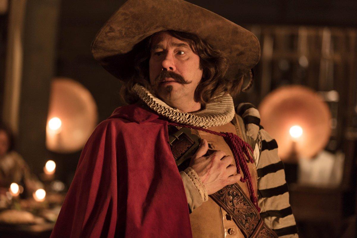 Cyrano Mon Amour:  Olivier Gourmet in una scena del film