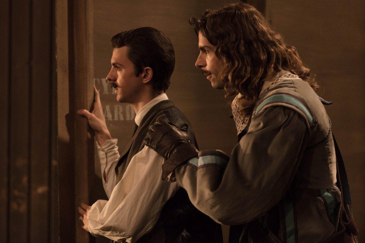 Cyrano Mon Amour:  Tom Leeb, Thomas Solivérès in una scena del film