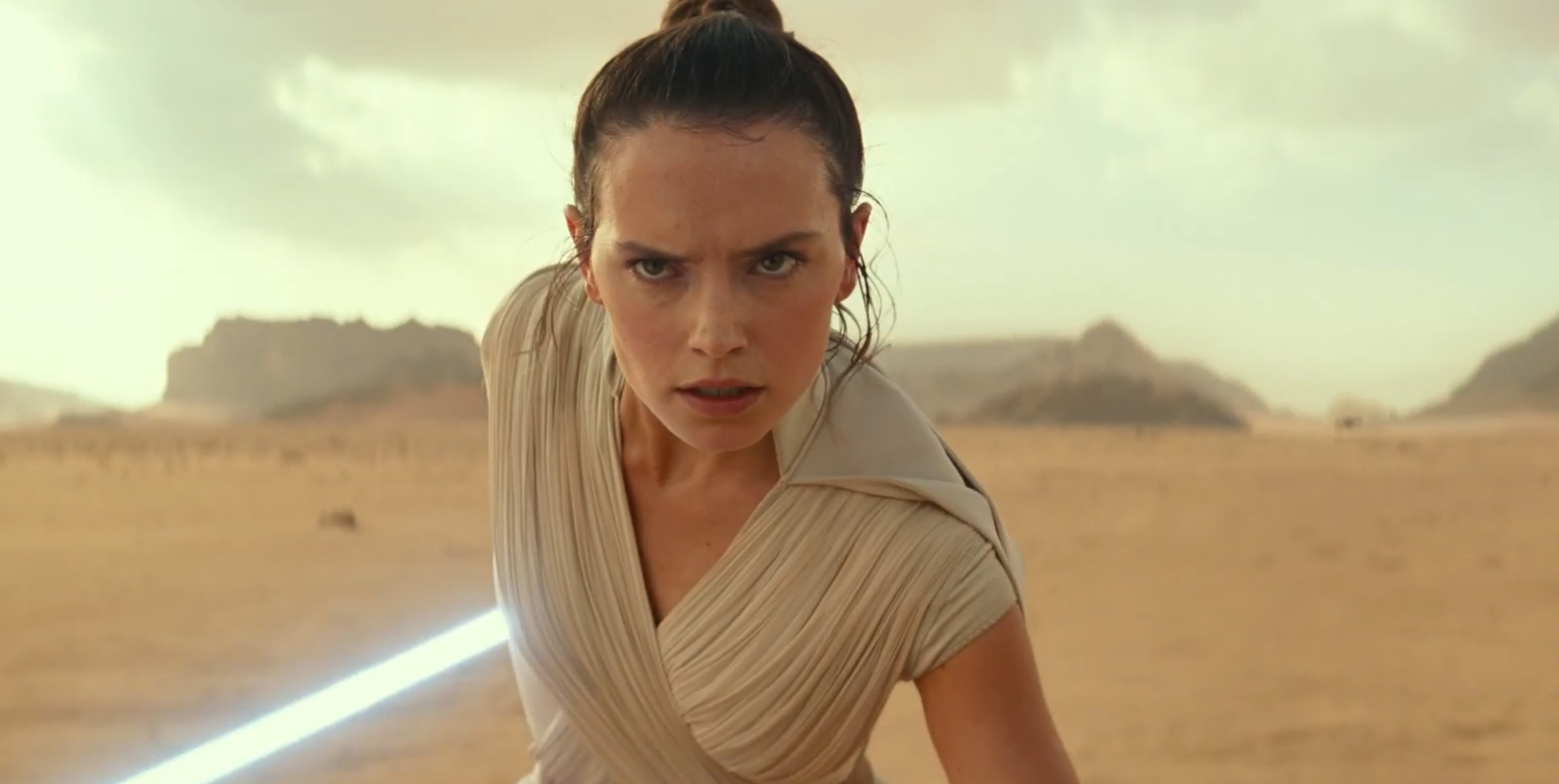 Star Wars: The Rise of Skywalker - Daisy Ridley in un'immagine dal primo teaser
