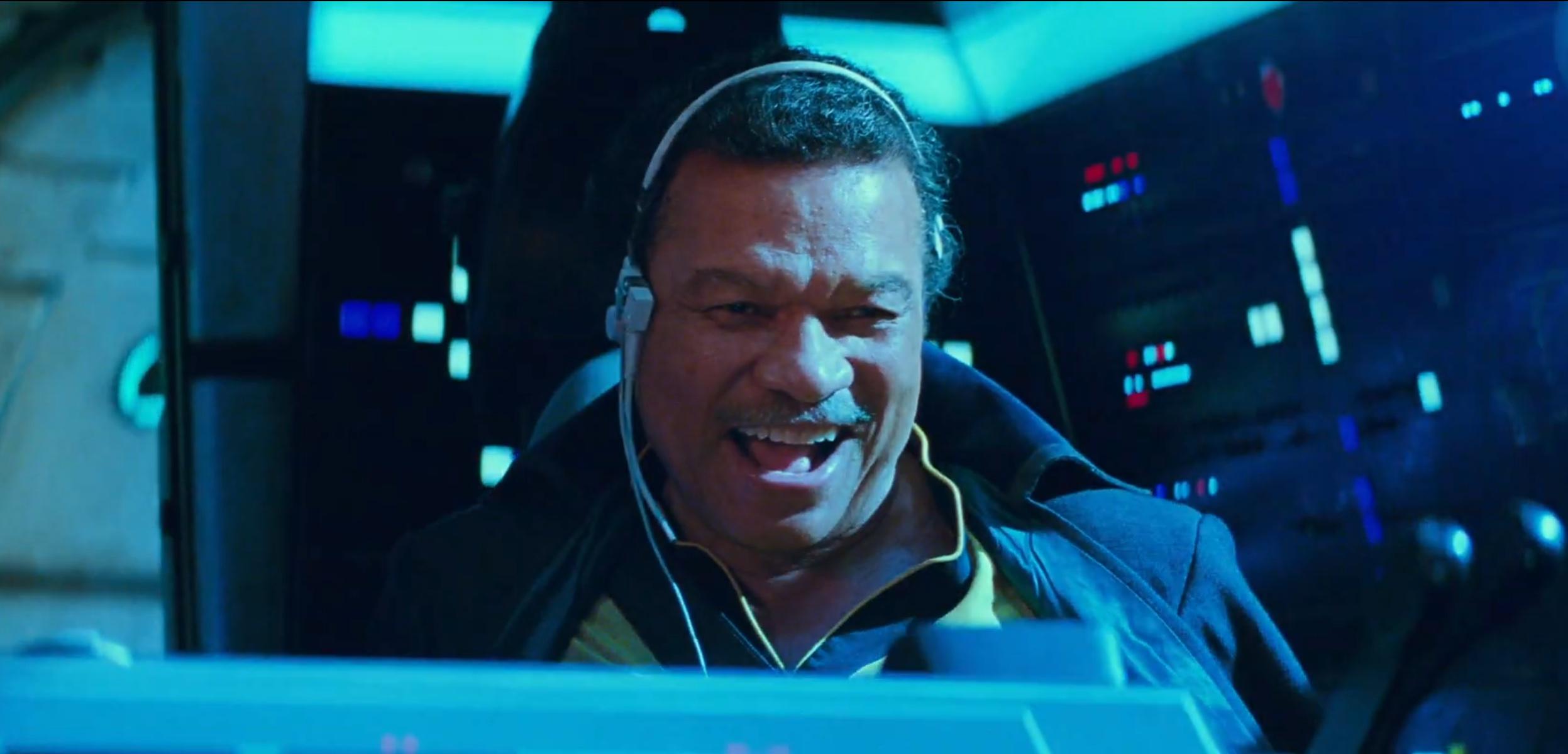 Star Wars: The Rise of Skywalker - Lando Calrissian in un'immagine dal primo teaser