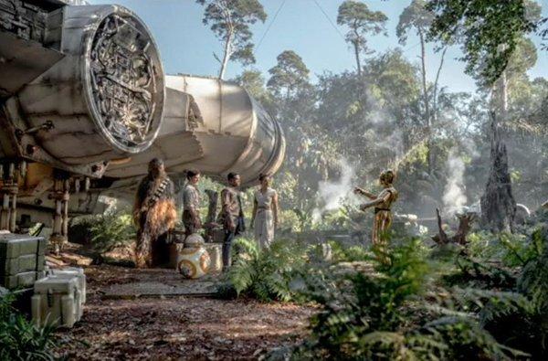 Star Wars: Episode IX, un concept art del film