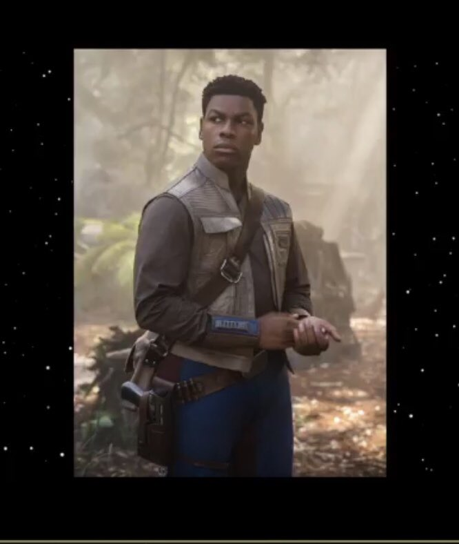 Star Wars: Episode IX, una foto di Finn