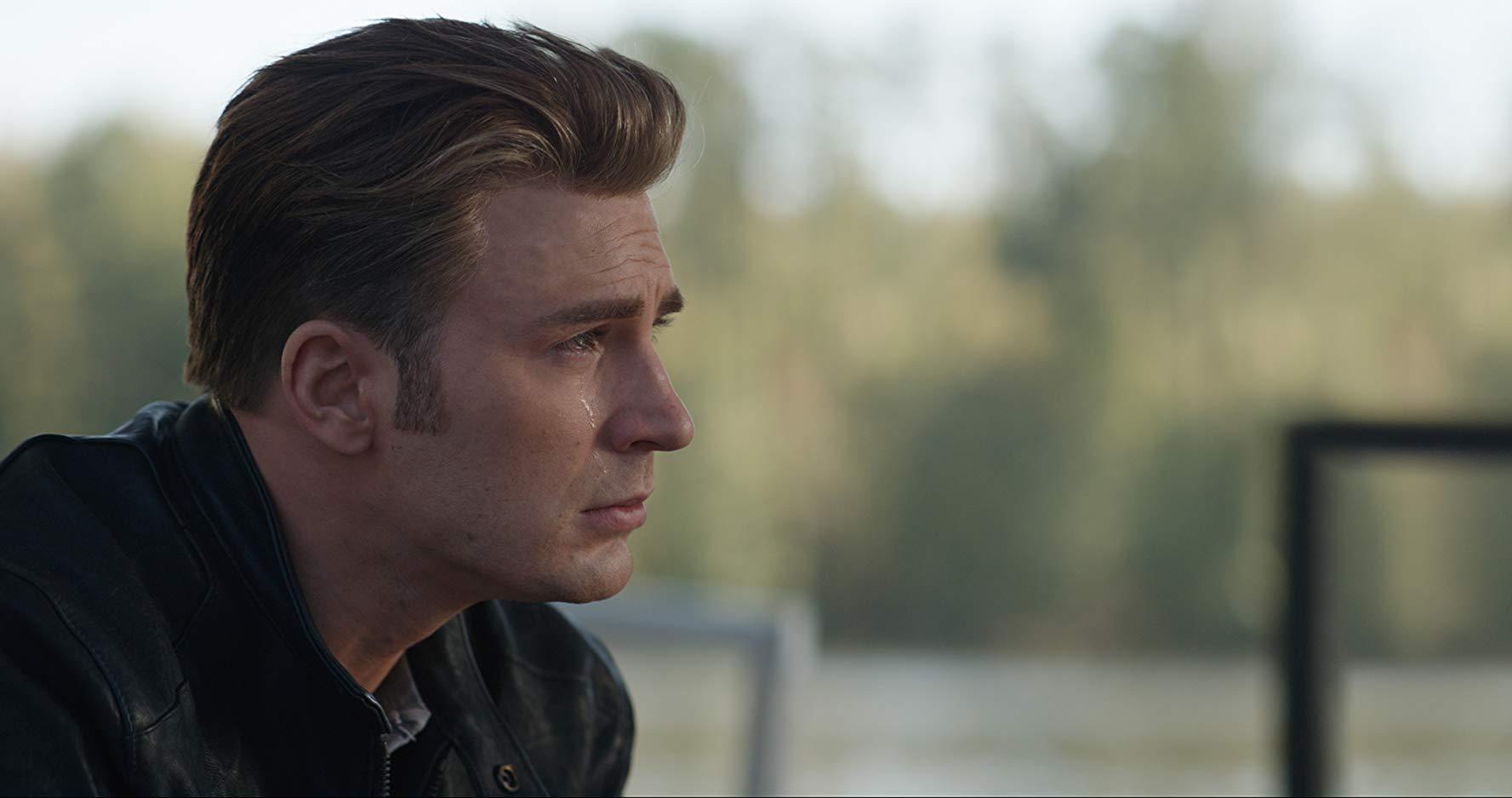 Avengers: Endgame, Captain America in lacrime