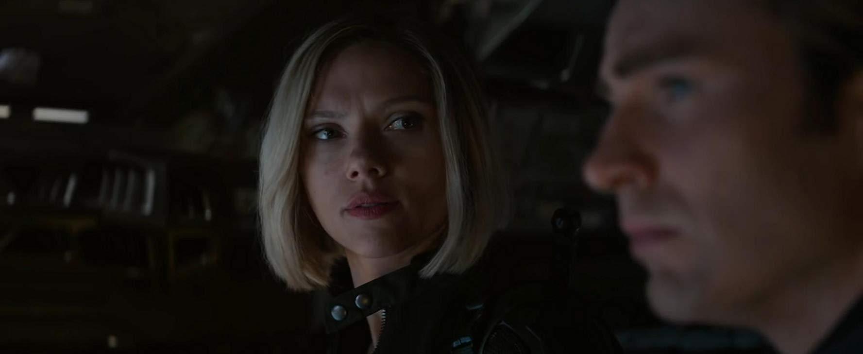 Avengers: Endgame, Scarlett Johansson insieme a Chris Evans