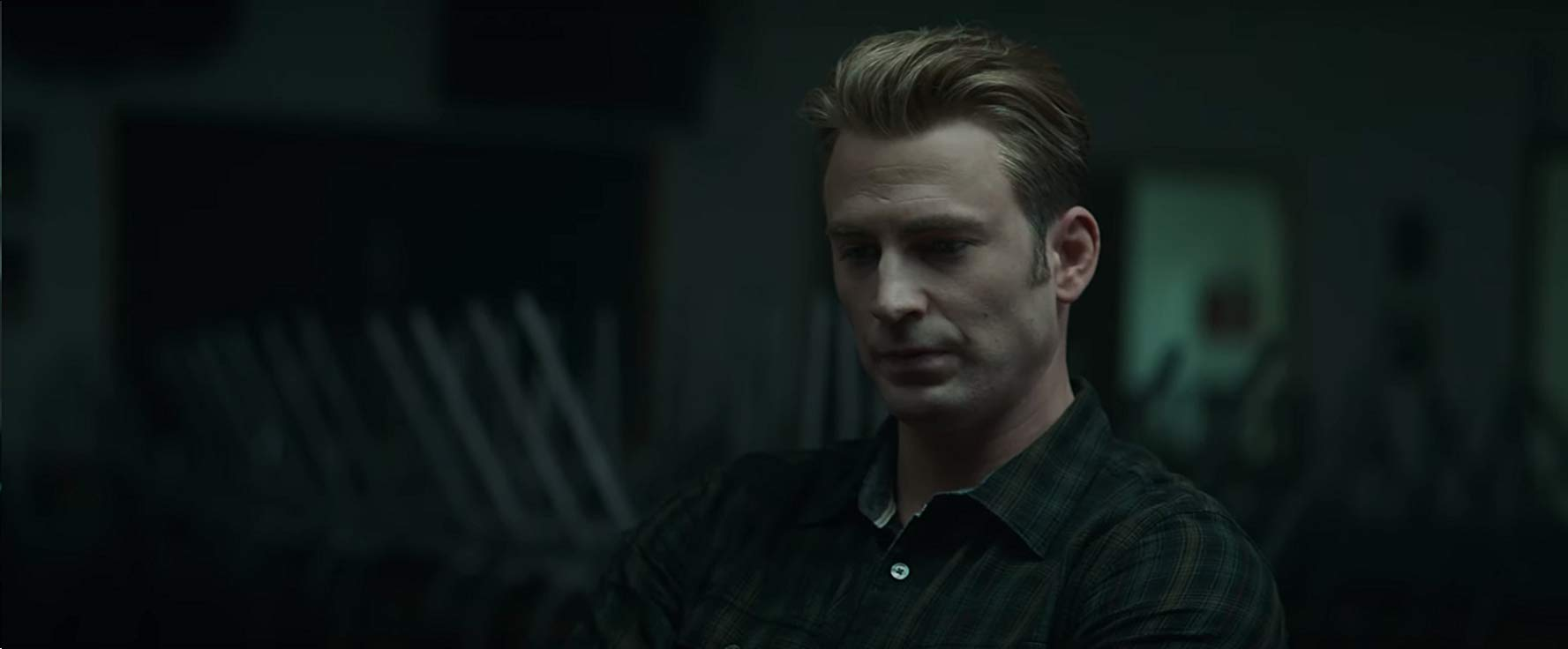 Avengers: Endgame, una scena con Chris Evans