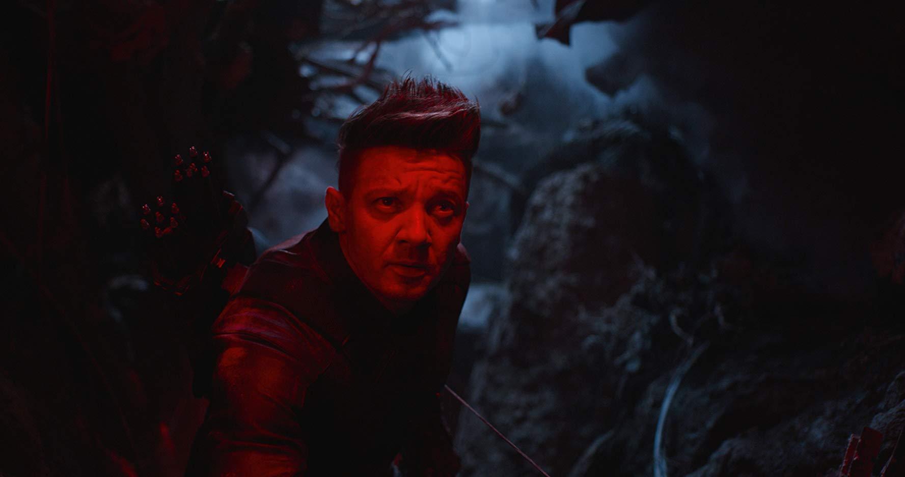 Avengers: Endgame, Jeremy Renner in una scena del film