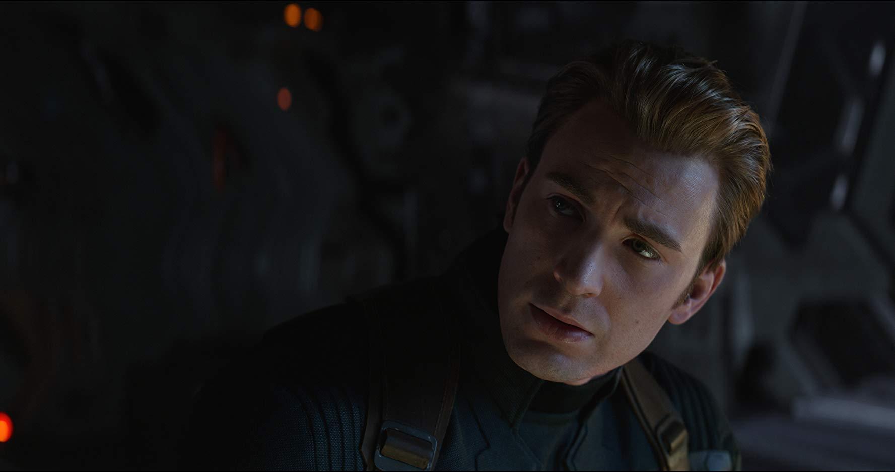 Avengers: Endgame, Chris Evans in un primo piano