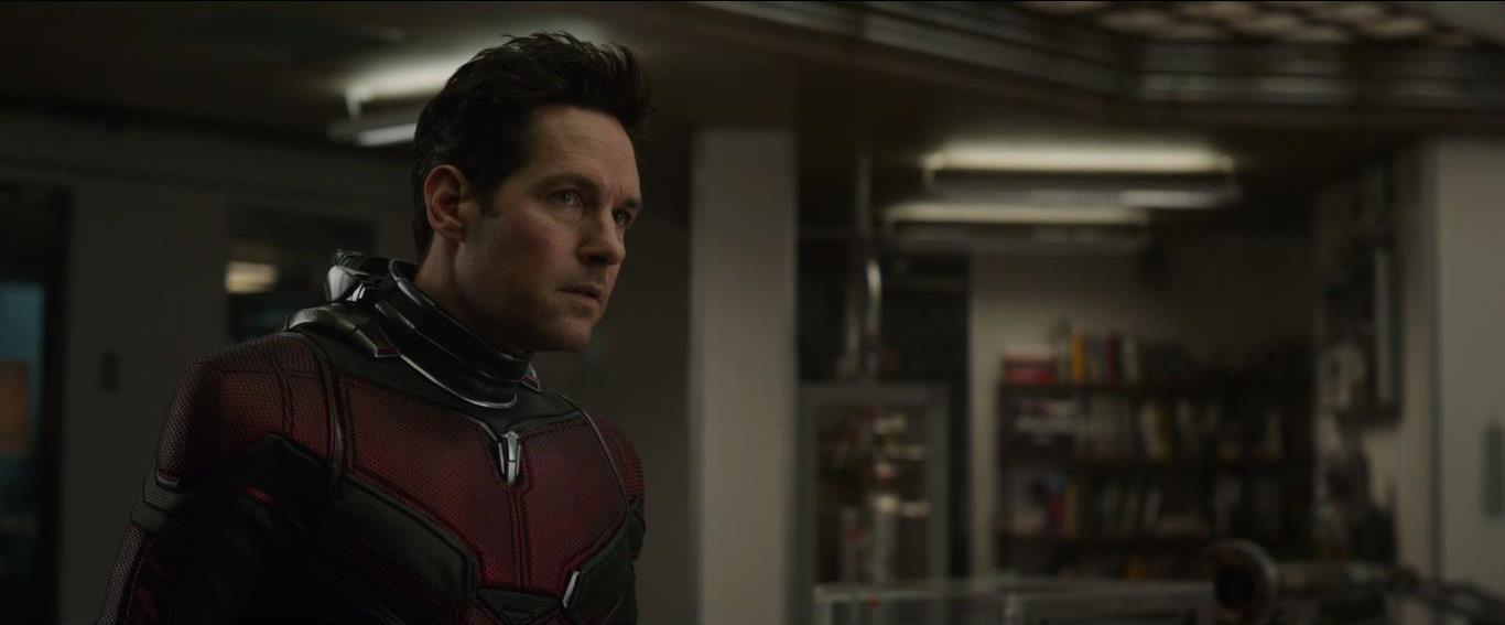 Avengers: Endgame, una scena con Paul Rudd