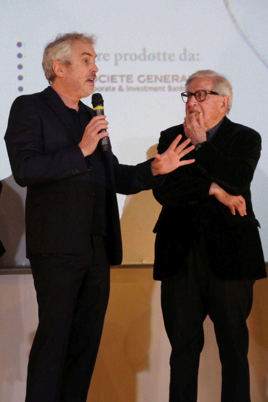 Paolo Taviani e Alfonso Cuaron a Lucca Film Festival ed Europa Cinema 2019