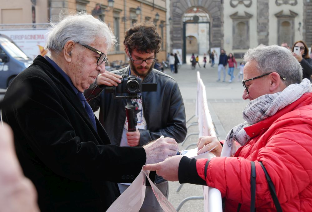 Paolo Taviani sul red carpet del Lucca Film Festival ed Europa Cinema 2019