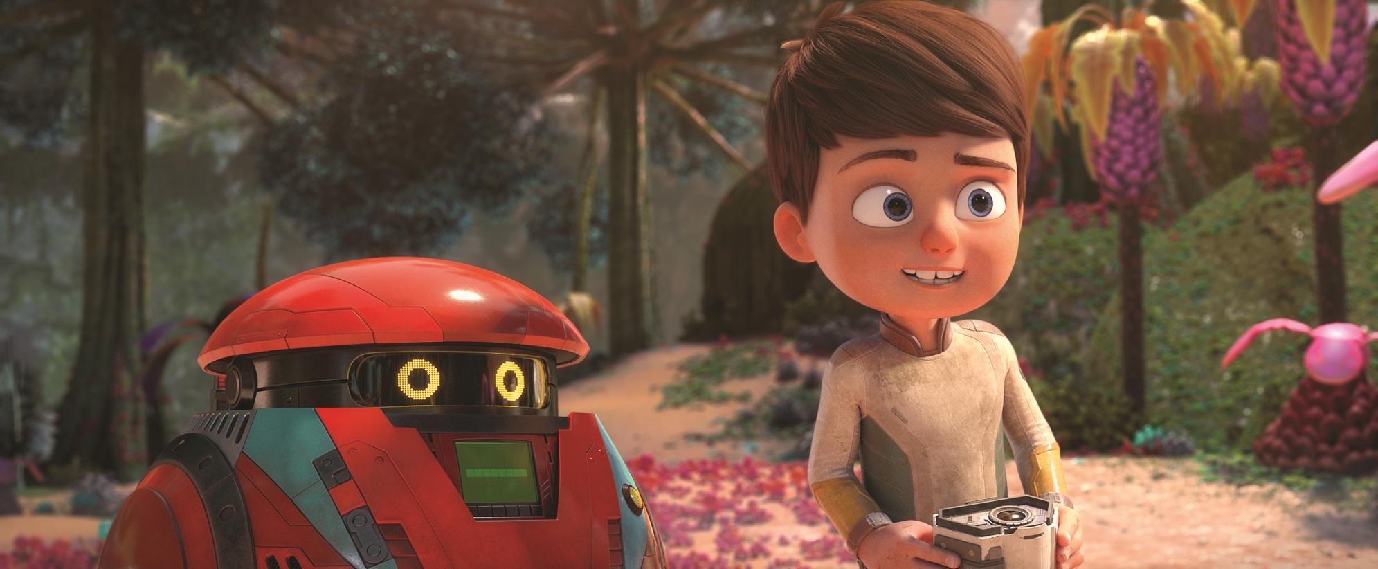 A Spasso con Willy: una scena del film animato