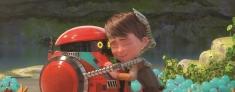 A Spasso con Willy: un momento di tenerezza tra Willy e il suo affidabile amico robot