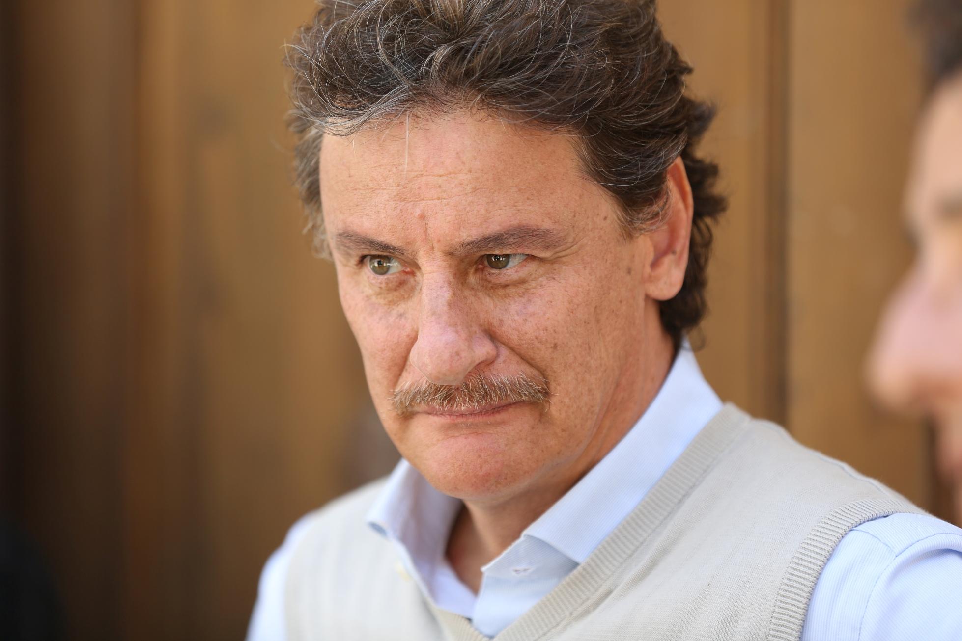 L'Aquila - Grandi Speranze:  Giorgio Tirabassi in una scena della fiction