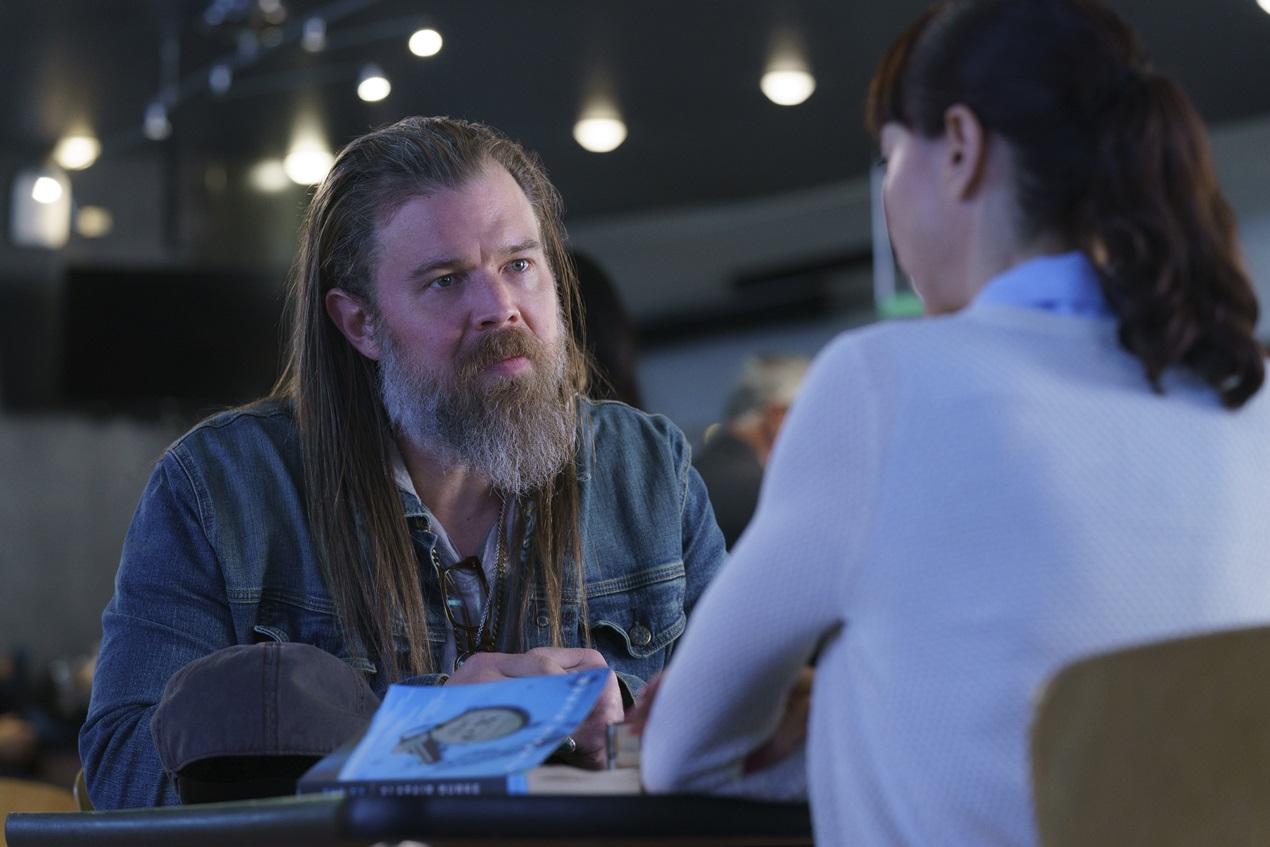 Bosch: Ryan Hurst in una foto della quinta stagione
