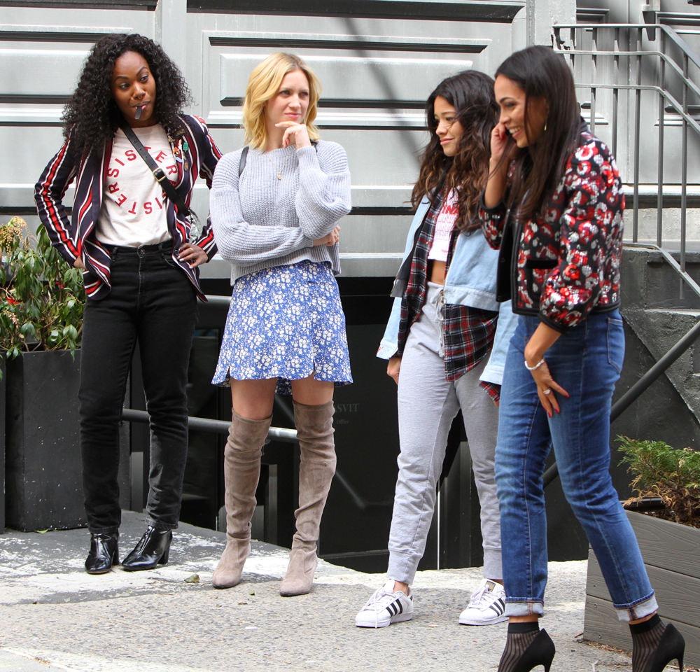 Someone Great: Rosario Dawson, Brittany Snow, Gina Rodriguez, DeWanda Wise in una scena