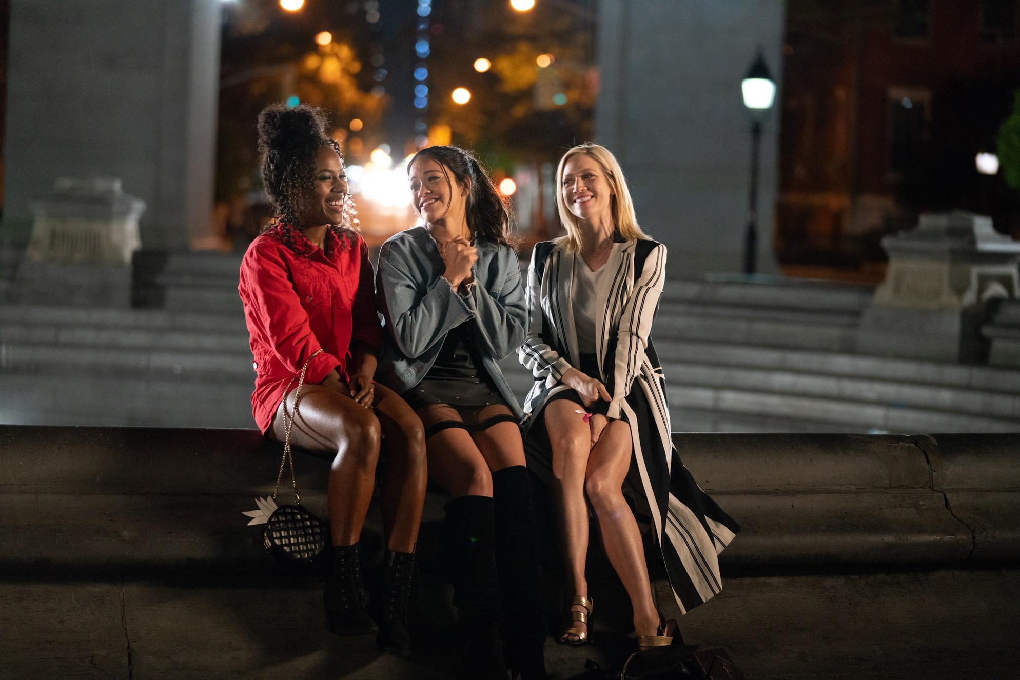 Someone Great: Brittany Snow, Gina Rodriguez, DeWanda Wise in una scena