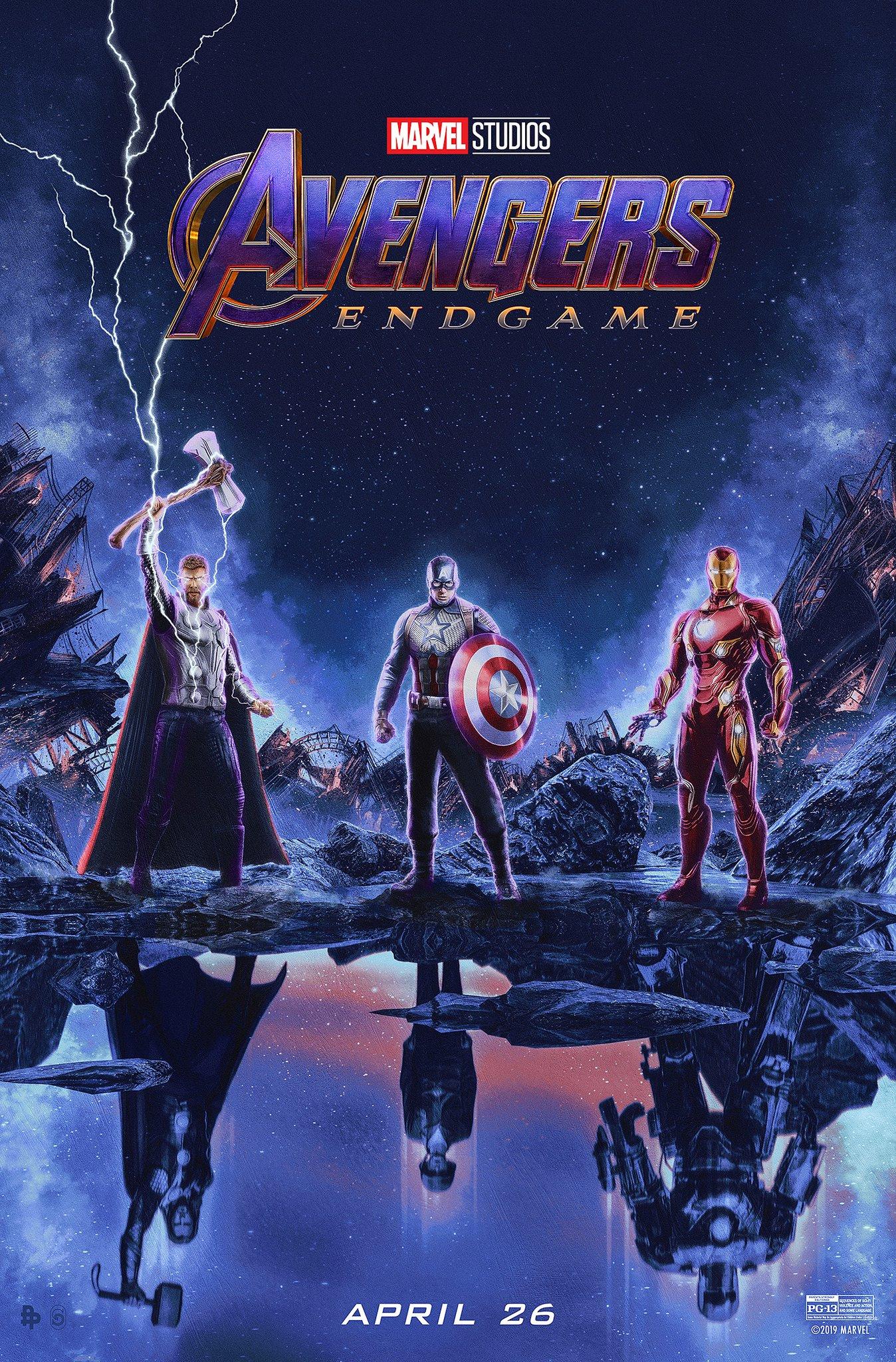 "Avengers: Endgame, nuovo poster ""Trinity"""