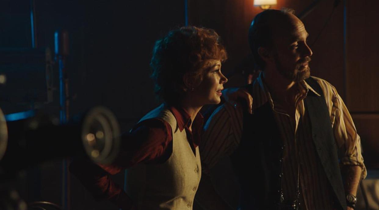 Fosse/Verdon: Michelle Wlliams insieme a Sam Rockwell in una scena
