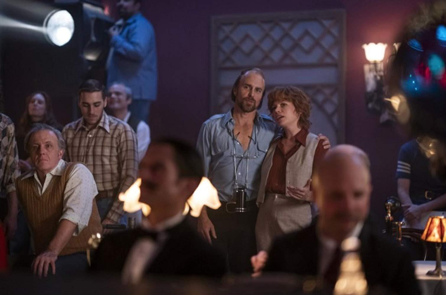 Fosse/Verdon: Michelle Willilams e Sam Rockwell in una scena della serie