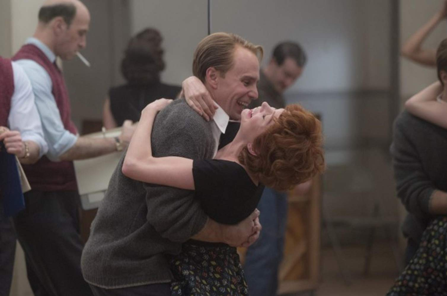 Fosse/Verdon: Sam Rockwell insieme a Michelle Williams in una scena