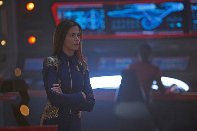 Star Trek: Discovery: Jayne Brook in una scena del finale della seconda stagione