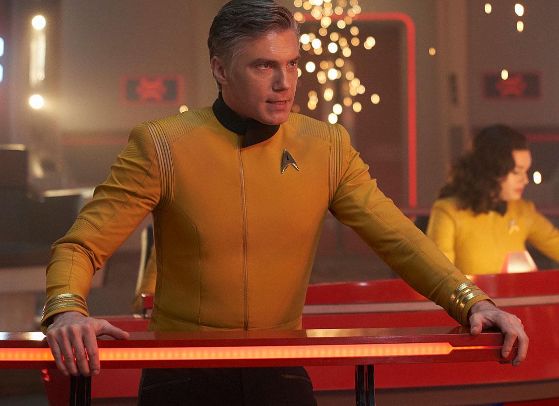 Star Trek: Discovery: Anson Mount in una scena del finale della seconda stagione
