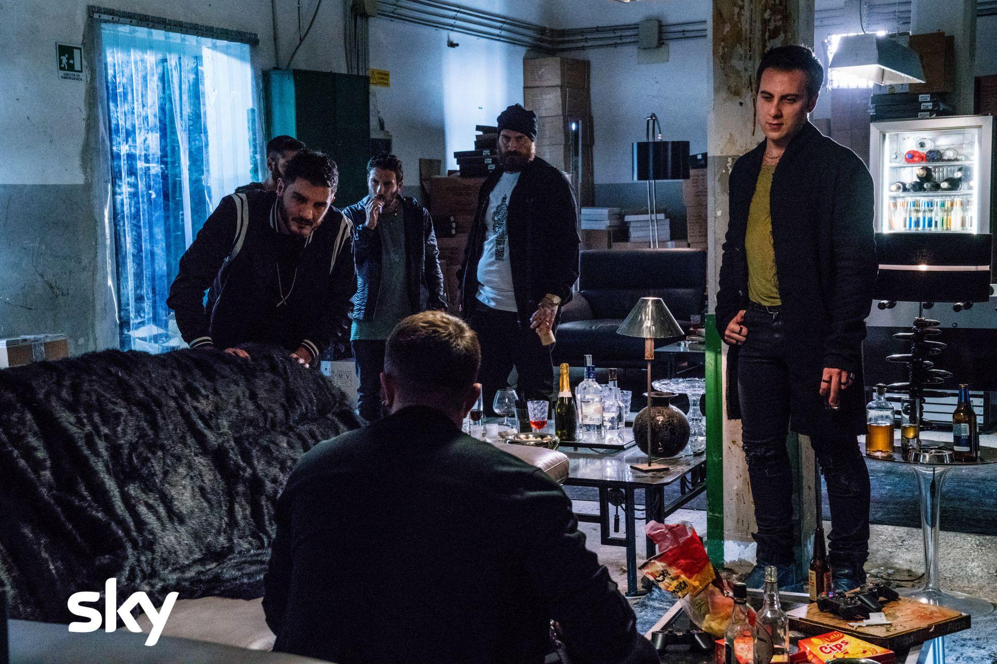 Gomorra La Serie: una scena con Loris De Luna del settimo episodio della quarta stagione